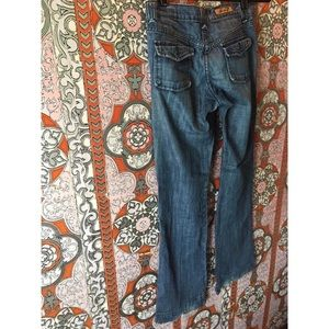Seven7 (7 for all mankind) wide leg dressy jeans